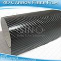 Sino de plástico del coche del coche 4d de fibra de carbono de vinilo película mi familia pegatinasdecoches 1.52x30m