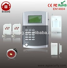 Household Home Automation LCD Screen Wireless Alarm System with 99 Defence Zones