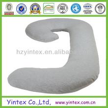 Factory Soft Soild 100% Cotton Microfiber Pregnancy Snoogle Body Pillow