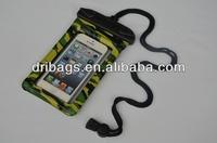 Latest design hot sale ip57 mobile phone waterproof bag