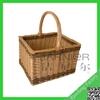 Promotional Rectangular Basket With Handle,Handle Basket,Large Storage Basket With Handle