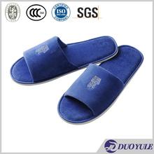 high quality veour hotel slipper