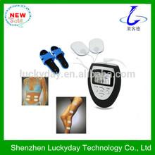 Low noise handheld electronic tens massage apparatus