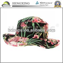Fashion fisherman bucket hat floppy hat with string