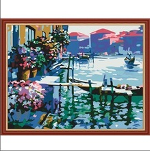 MG227 simple flower paintings The best oil painting in China
