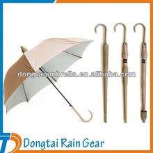 Promotion Automatic Straight Waterproof Rain Gear Umbrella