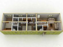 B.R.D hot sale cheap prefab living moneable modular container house for sale