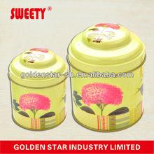 sliding tin box