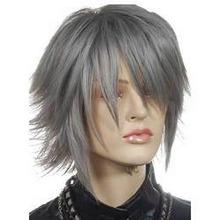 Grey Human Hair Wig