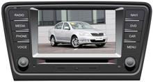 2014 new 8 inch built-in TV/Bluetooth/ipod/aux/radio car dvd for skoda octavia