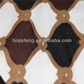 Super macio 100% poliéster tecidodeveludo sofá impresso, almofada de tecido