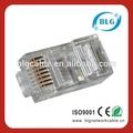 Fob shenzhen definición de precios: doble rj45 conector/rj45/cat7 rj45 plug modular