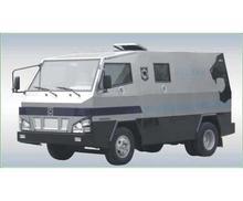 Isuzu 600P Armored Cash In Transit Vehicle