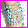 ladies bead bracelet, love bead bracelet, wholesale bead bracelet H2241