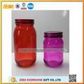 Verre pot de miel d'abeille, de fantaisie en verre pots de miel, miel en verre bocaux avec des couvercles