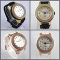 los hombres de oro reloj correa de silicona y el movimiento de japón el tiempo y fecha reloj deportivo coss