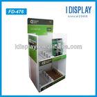 corrugated customized display shelf sunglasses for led lights cardboard display stand