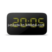 JK-015 Portable new design voice controled alarm clock ,funny desk clocks