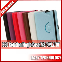case for huawei s7 tablet 360 degree rotating leather case 7inch with CE ROSH