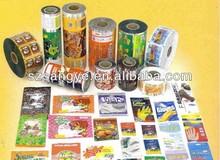 Food Packaging Film,Plastic Packaging Printing Film Roll For Biscuit, Candy, Coffee, Sugar, Juice Packaging
