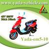 yada em5-10 48v 800w brushless PMDC 20ah lead-acid 10inch drum brake electric mopeds scooter