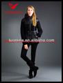 el último 2013 real de invierno de piel de las mujeres de moda de alta calidad de los uniformes de oficina para las señoras