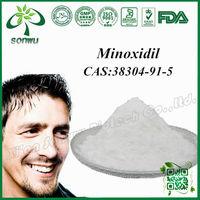 Pure minoxidil powder