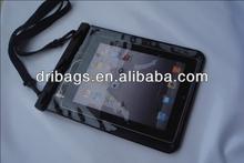 hot sale clear pvc waterproof hard case for fancy ipad