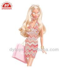 ICTI factory 2014 plastic women fashion sexe baby doll