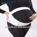 venta al por mayor de ropa de maternidad blanco transpirable de maternidad abdominal cuaderno de apoyo contra el dolor de espalda y las estrías