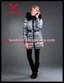mais recente 2013 real peles de inverno da moda das mulheres por atacado design uniforme escritório