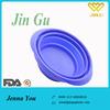 Environmental Protection Silicone Folding Pet Bowl