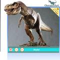 /resina de fibra de vidrio, adornos personalizados--- dinosaurios