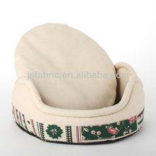 Novelty small dog printed sleeping dog pet bed