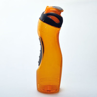 With gripper food grade PVC plastic drinking bottle