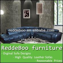 domino leather modular sofa