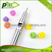 Green Leaf e cigarette Seven 22W big vapor, big wattage e cigarette mod torpedo e cigarette cloutank m3