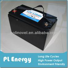 rechargeable heavy duty truck batteries 12v 120ah lifepo4
