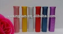 Wholesale 6 color 6ml lipstick aluminium perfume bottle for women