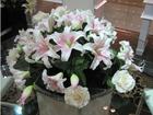 wholesale decorative Fashion Artificial flower artificial lily flower