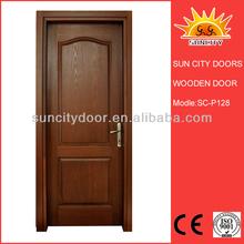 Wood garage bathroom interior sliding pocket doors
