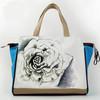 lady rose canvas handbag