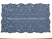 indoor decorative stair mats, flower shape carpet