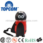 Animal beetle 1 led manual flashlight hand crank generator