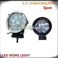 Off Roard SUZUKI Jimny lights 5inch 45w off road led work light IP68 cr ee chip