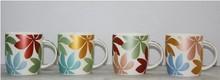 V-shaped coffee mug ceramic,ceramic espresso mug cup