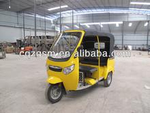 bajaj three wheel motorcycle taxi/ tuk tuk