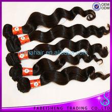 Fashion Hair Style Tresses No Chemical cheap virgin remy european human hair