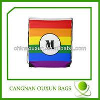 high quality customized nylon cheap drawstring pouch bags