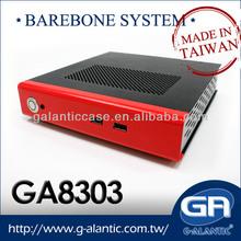 GA8303 High quality Dual Display Taiwan's mini pc barebone